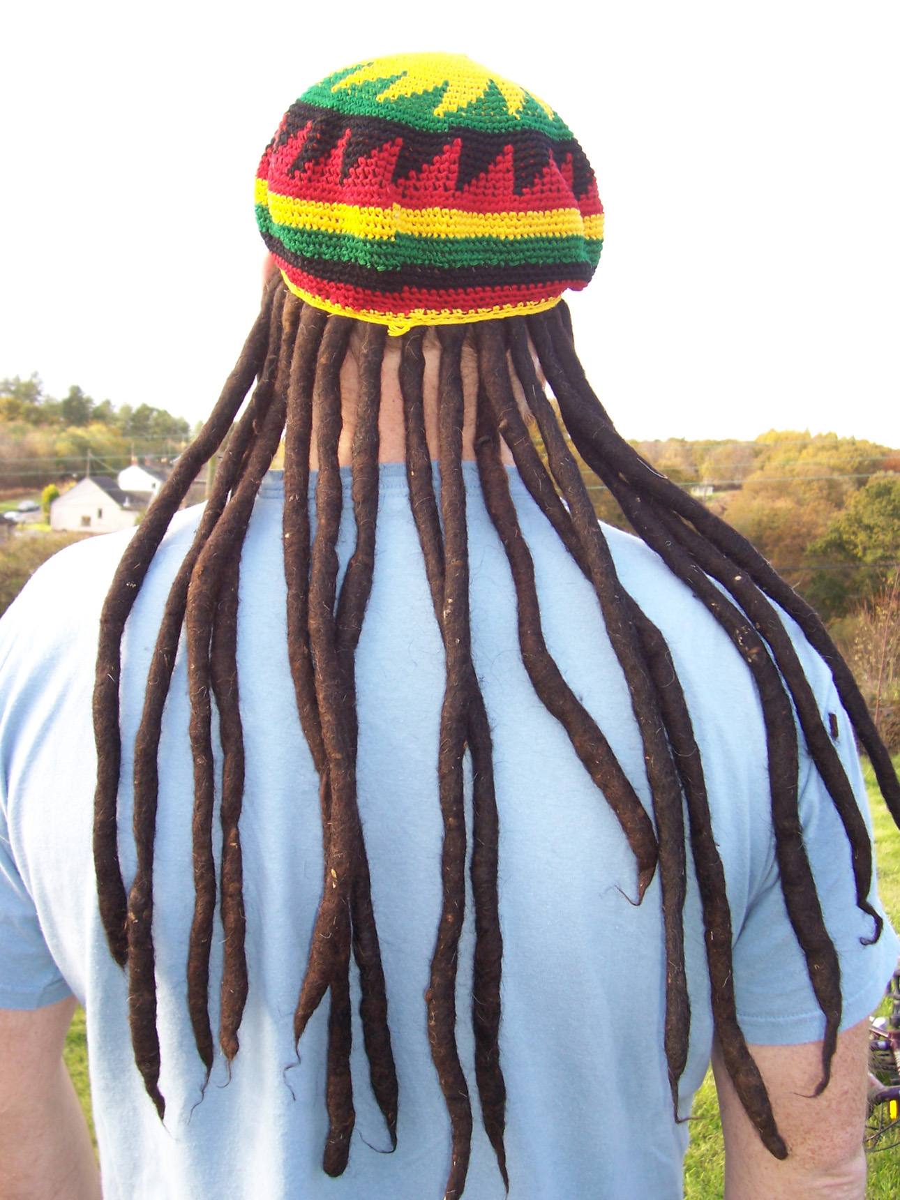 Free crochet pattern linkshippie tams, rasta hats, berets